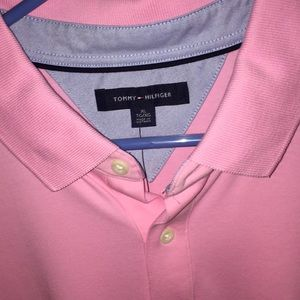 Tommy Hilfiger Shirts - Tommy Hilfiger Polo Shirt Pink